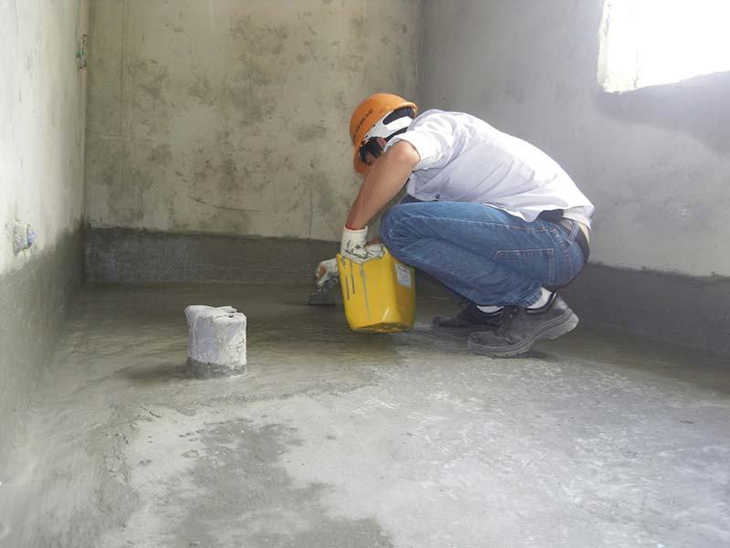 Thi công vữa chống thấm chuyên dụng Sikatop seal 107