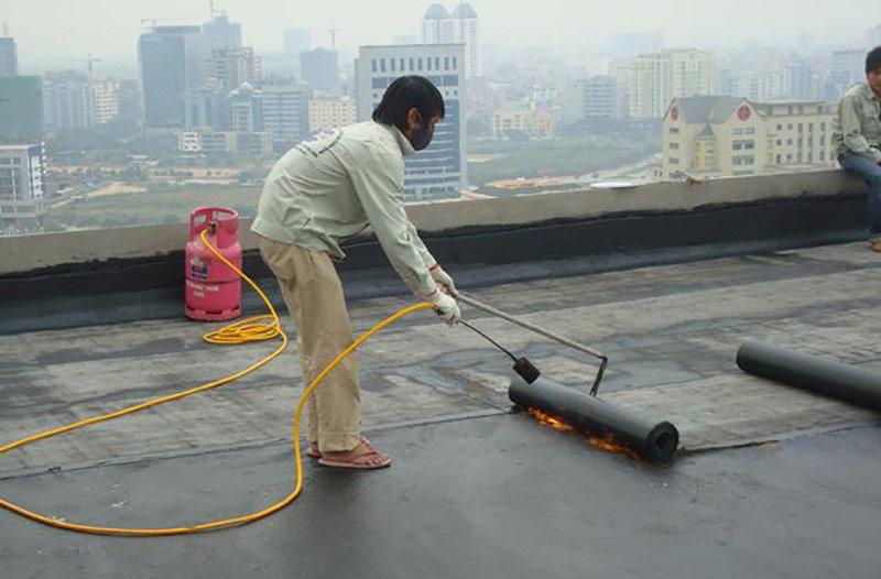 Hướng dẫn thi công sơn chống thấm sân thượng