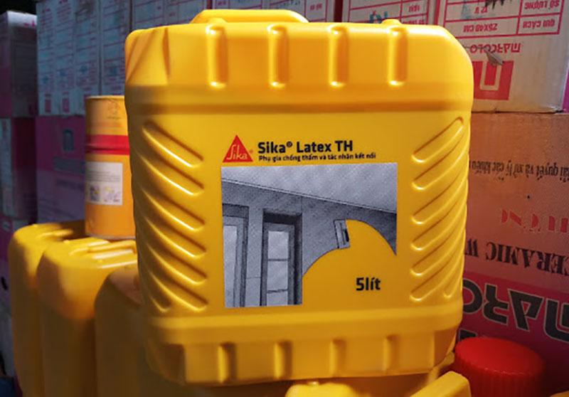 Sika Latex sản phẩm bán chạy hàng đầu tại Đại lý sika Bình Dương
